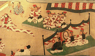 Muromachi period - Music scene during the Muromachi period (1538)