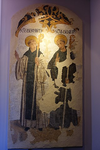 Saint Bernard and Saint Benedict