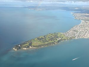 Musick Point - Musick Point from the air.