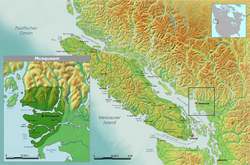 Territory of the Musqueam Indian Band