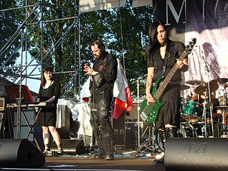 Doom metal - My Dying Bride at Frozen Rock Fest. 2007.