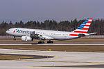 N292AY American Airlines Airbus A330-243 arriving from Philadelphia (KPHL) on Rwy 25R @ Frankfurt (EDDF) - 08.04.2015 (17181171475).jpg