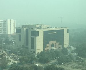 National Highways Authority of India - Headquarters of the NHAI at Sector 10, Dwarka in New Delhi, India
