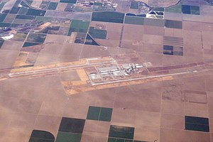 NLC NAVAL AIR STATION LEMOORE CA FROM 737 N607AS ALASKA AIRLINES FLIGHT PDX-LAX (17895742469).jpg