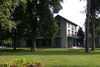 Irving Female College - East (older) building of Irving Female College, September 2013