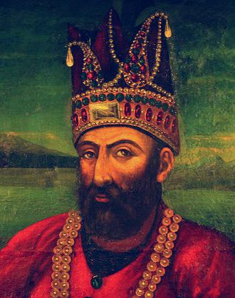 Nader Shah - Portrait of Nader Shah
