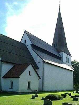När Church - Image: Naer kyrka Gotland total 2