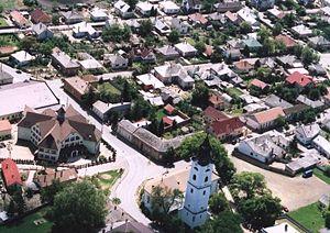 Nagykálló - Aerial Photography of Nagykálló