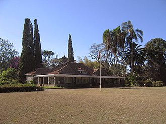 Denys Finch Hatton - Blixen's house at the farm (now a museum).