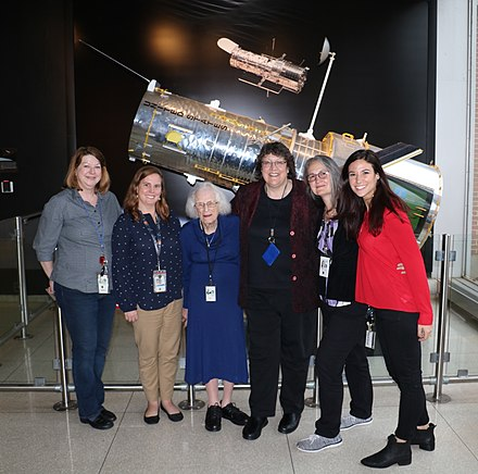 Nancy Grace Roman with Women of Hubble Nancy Grace Roman with Women of Hubble (42081749402).jpg