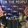 Nancy Pelosi and Kara Swisher discussing 100DaysForThePeople.jpg