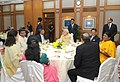 Narendra Modi at a dinner hosted by him in honour of the former Chief Justice of India, Shri R.M. Lodha and the incumbent Chief Justice of India, Shri H.L. Dattu.jpg