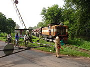 Narrow Gauge Train in Chhattisgarh, India