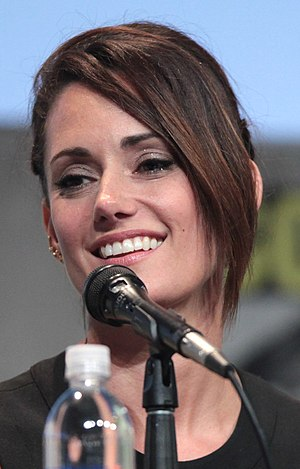 Natalie Brown (actress) - Brown at the 2015 San Diego Comic-Con International.