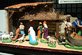 "National Museum of Ethnology, Osaka - Christmas figurines ""Nativity scene"" - France - Collected in 1999.jpg"