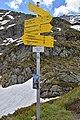 Nationalpark Hohe Tauern - Gletscherweg Innergschlöß - 31 - Wegweiser beim Auge Gottes.jpg