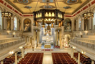 St. Augustine Church (Philadelphia) - Image: Nave, St. Augustine's, Philadelphia