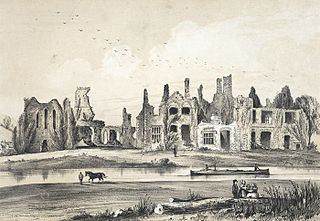 Neath abbey, Glamorgan: founded by Richard De Cranville, circa 1129