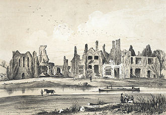 Neath Abbey - Neath abbey, 1849