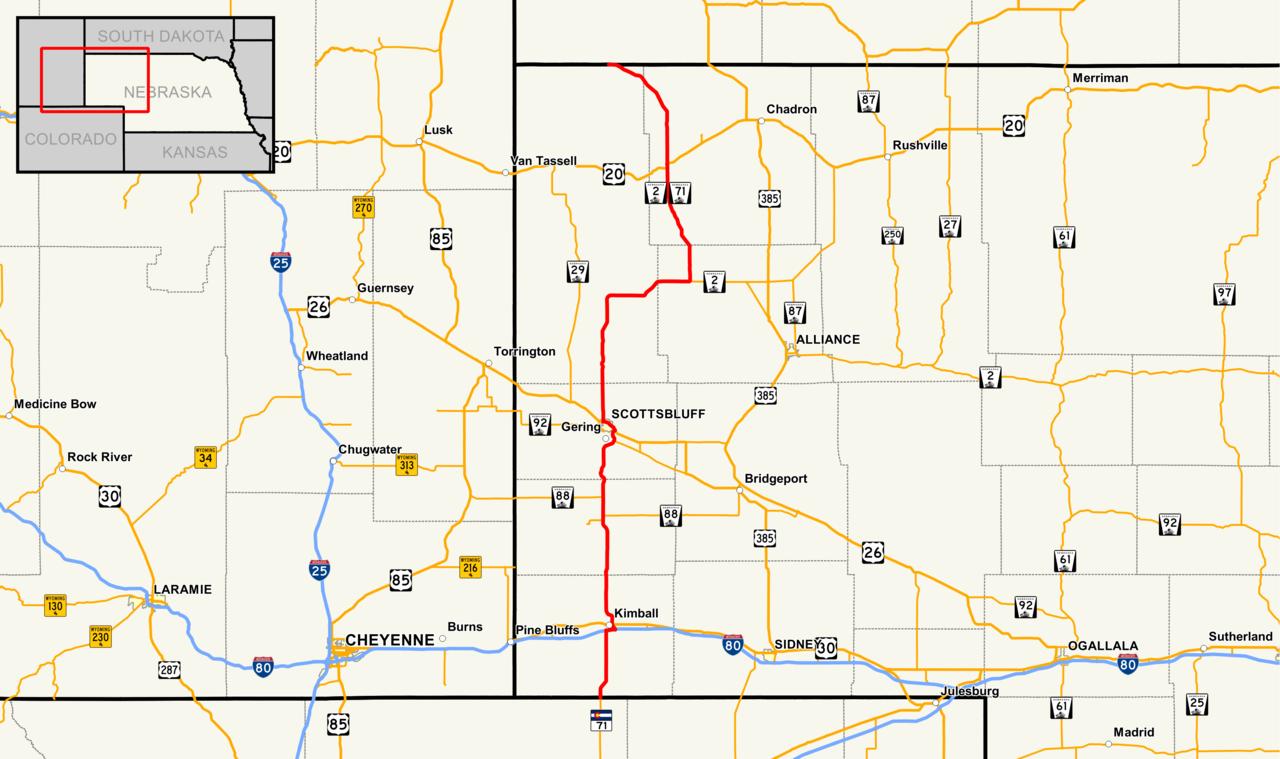 File Nebraska Highway 71 Map Png Wikipedia
