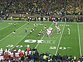 Nebraska vs. Michigan football 2013 08 (Nebraska on offense).jpg