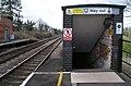 Needham Market station, underpass entrance - geograph.org.uk - 731324.jpg