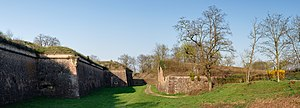 Neuf-Brisach - Image: Neuf Brisach southeastern moats and fortifications panoramic