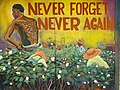 Never Forget-Never Again - Mural on Facade of Enslavement and Civil War Museum - Selma - Alabama - USA.jpg