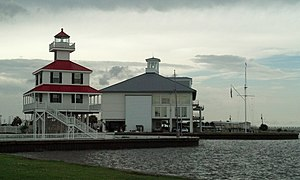 West End, New Orleans - New Canal Lighthouse and Southern Yacht Club