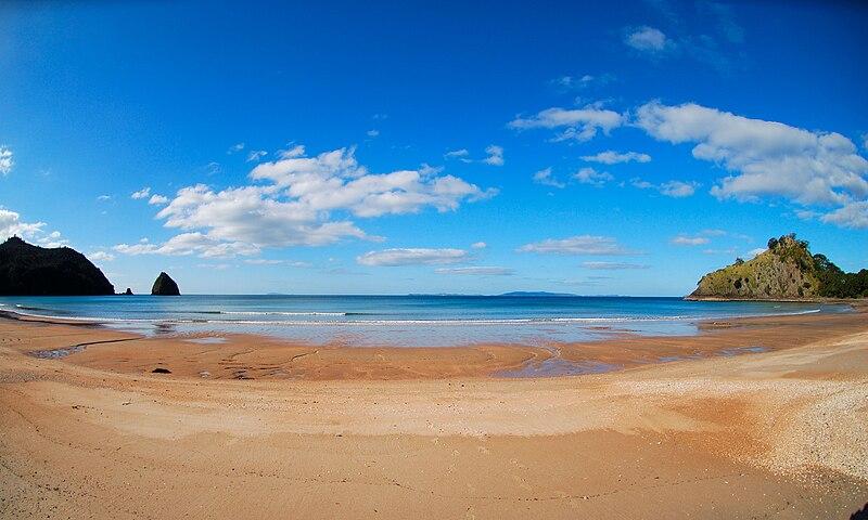 New Chums beach Whangapoua Waikato.