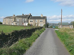 Norland, West Yorkshire - Image: New Clough Road, Norland geograph.org.uk 987015