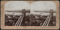 "New York City. Brooklyn Bridge from ""World"" building, New York, N.Y, from Robert N. Dennis collection of stereoscopic views.png"