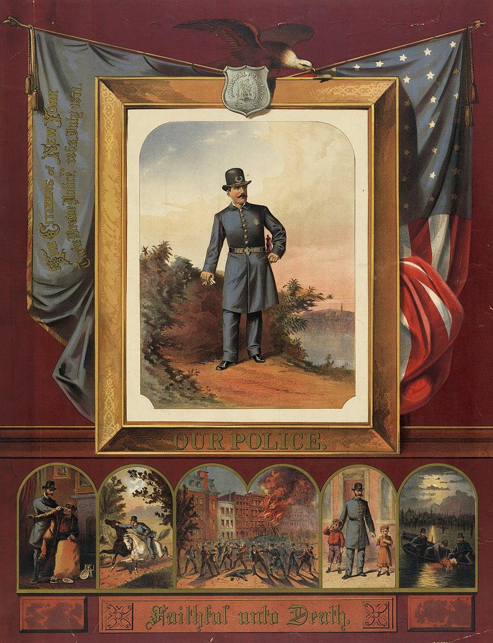 New York Municipal Police 1873