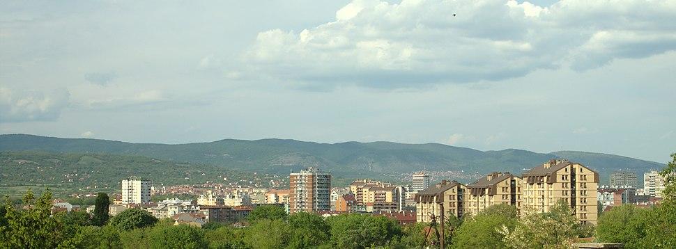 Niš, panorama města