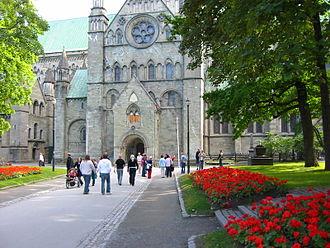 Sør-Trøndelag - Image: Nidarosdomen Olavsfestdagene Trondheim 2005