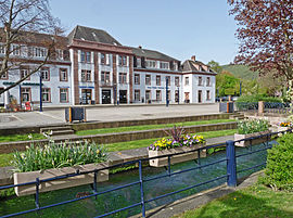 FormerDe Dietrich central office and Falkensteinerbach river