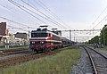 Nijmegen Captrain 1619 -Raillogix- met lege autotrein (26861704702).jpg