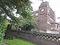Nijmegen Rijksmonument 522950, 522952 Museum Kam zijaanzicht met hekwerk.JPG