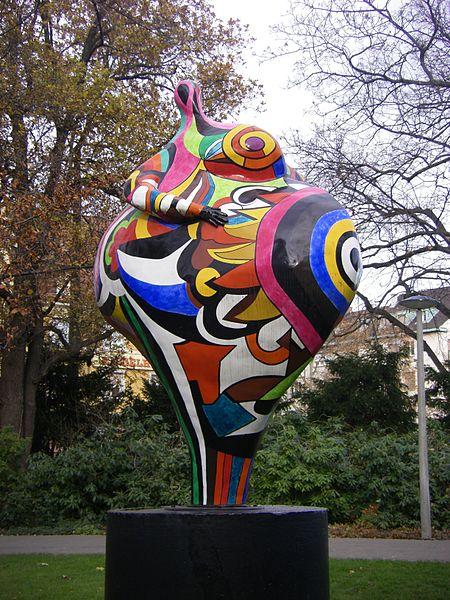尼基·德·圣佛莉Niki de Saint Phalle(法国1930 -2002)雕塑作品集1 - 刘懿工作室 - 刘懿工作室 YI LIU STUDIO