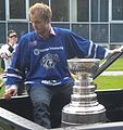 Niklas Hjalmarsson Stanley Cup (cropped).JPG
