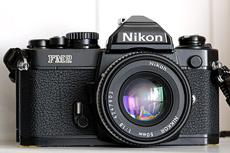 Nikon FM2 - The Nikon FM2 in black.