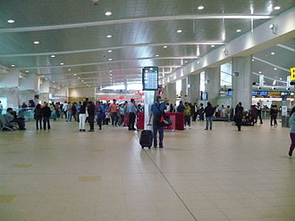 Mariscal Sucre International Airport - Check-in and departures area