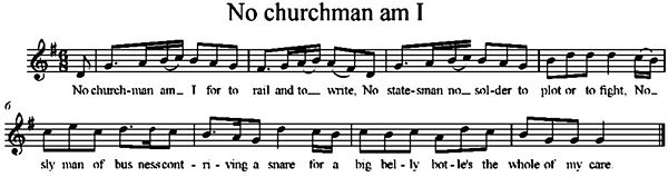 No churchman am I for to rail and to write.jpg