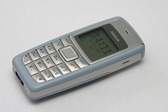 Nokia 1112 - Image: Nokia 1112