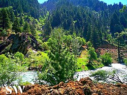 A river in Nuristan province