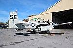 North American T-28 Trojan, Beechcraft T-34 Mentor, Richard B. Russell Airport, Nov 2017 2.jpg