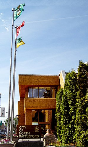 Die City Hall von North Battleford