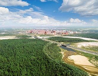 Yamalo-Nenets Autonomous Okrug - North Districts of Novy Urengoy