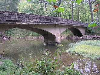 North River (Cacapon River) - Bridge over the North River near North River Mills