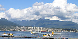 Skyline of North Vancouver